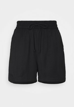 SHORT - Szorty - black dark