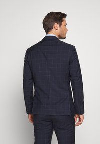 Tommy Hilfiger Tailored - WINDOWPANE SLIM FIT SUIT - Oblek - blue - 3