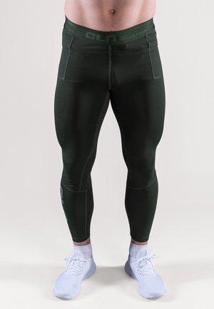 Punčochy - dark green