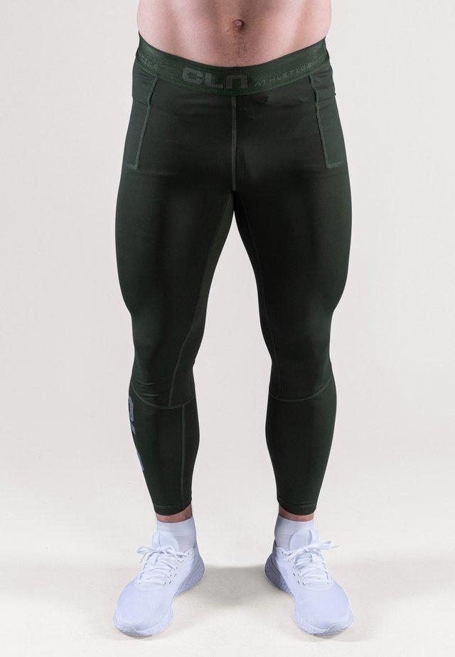 Collants - dark green