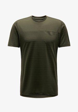 EVODYE TEE - Sports shirt - green
