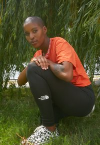 The North Face - HIGH WAISTED - Leggings - black - 2