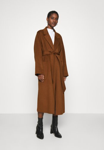 BELTED COAT - Classic coat - gingerbread