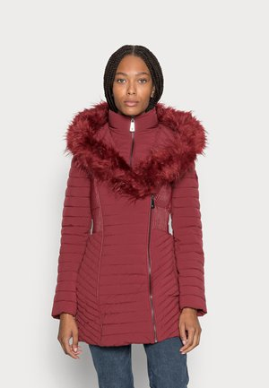 NEW OXANA JACKET - Winter coat - ruby merlot