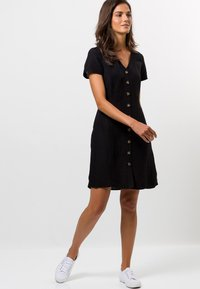 zero - Shirt dress - black - 1