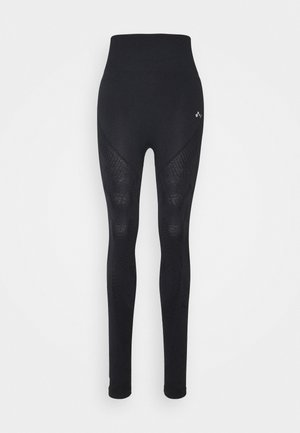 ONPJASE CIRCULAR - Leggings - Trousers - black