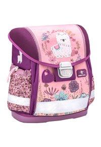 Belmil - MIT INTEGRIERTEM BRUSTGURT - School bag - hellrosa - 2