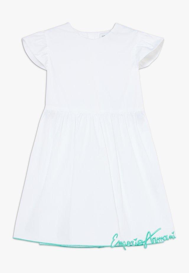 DRESS - Cocktailklänning - bianco