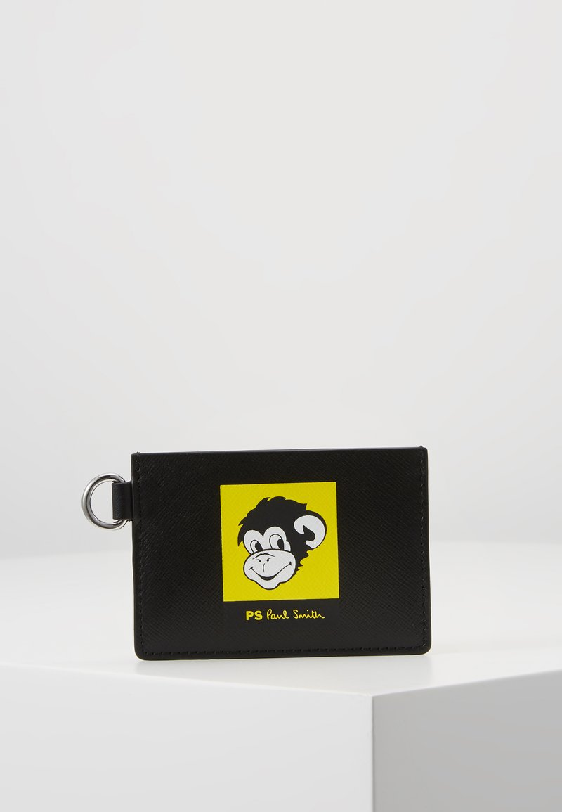 PS Paul Smith - EXCLUSIVE MONKEY CARD WALLET - Geldbörse - black