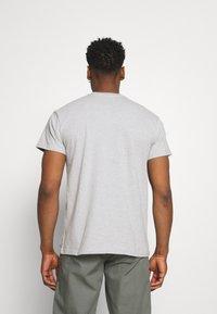 REVOLUTION - LOOSE FIT POCKET - Basic T-shirt - grey melange - 2
