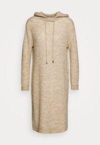 ALLYSSA DRESS - Pletené šaty - rainy day melange