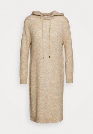 ALLYSSA DRESS - Jumper dress - rainy day melange