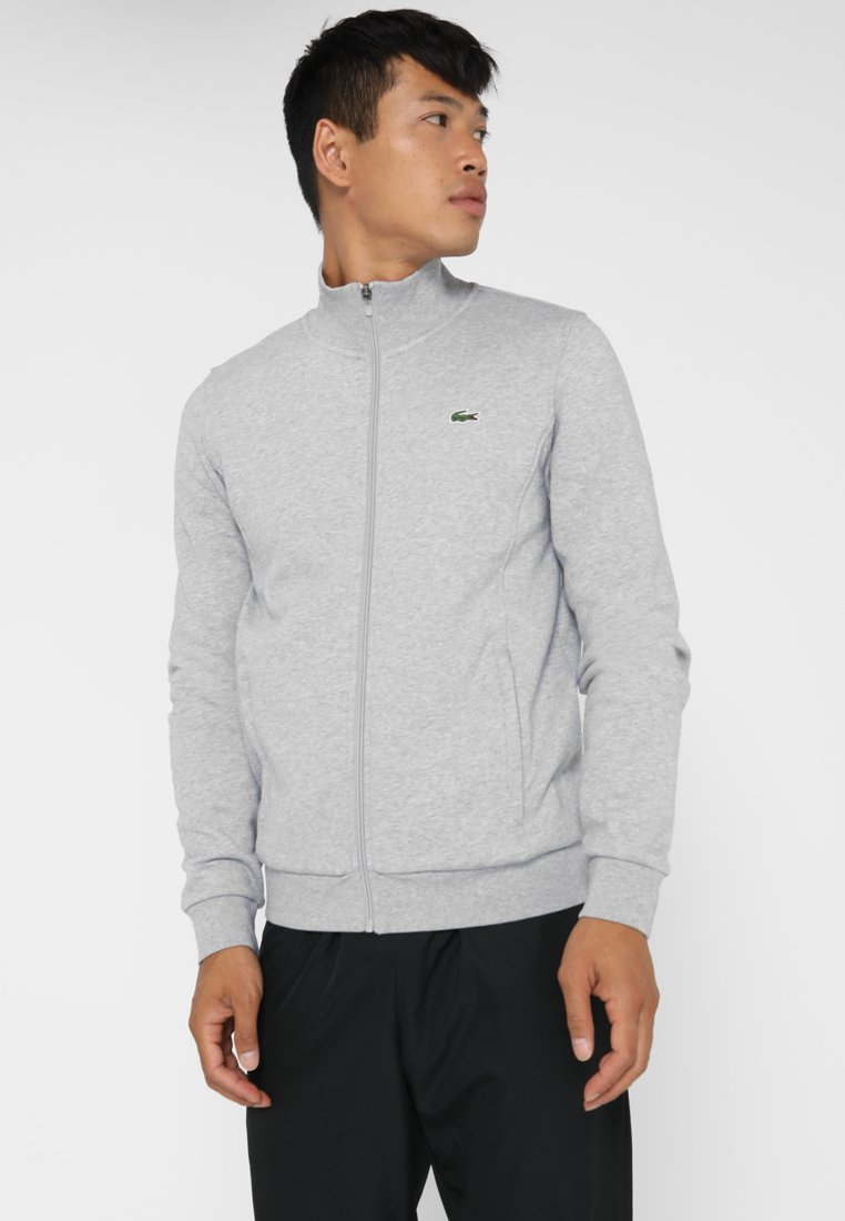 Lacoste Sport - JACKET - Mikina na zip - silver chine