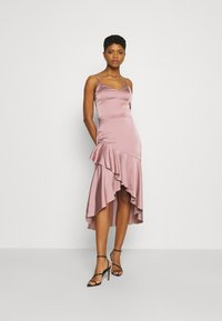 Nly by Nelly - SUCH A FLOUNCE MIDI DRESS - Cocktail dress / Party dress - dusty pink - 1
