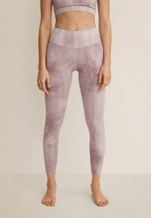 Leggings - Trousers - rose pâle