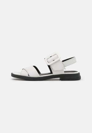 Sandales - white/black