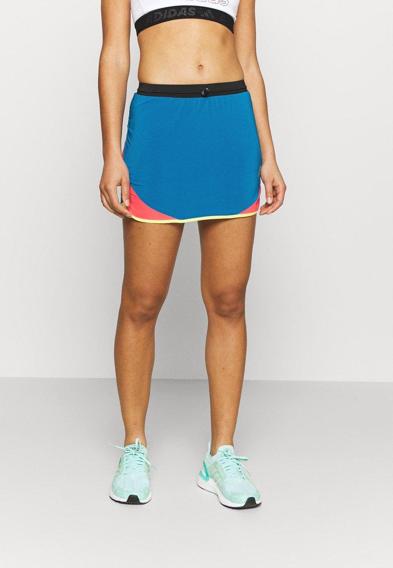 La Sportiva - COMET SKIRT - Sports skirt - neptune/hibiscus