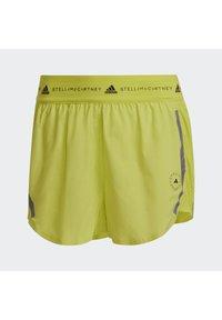 adidas by Stella McCartney - TRUEPACE - Sportovní kraťasy - acid yellow - 7