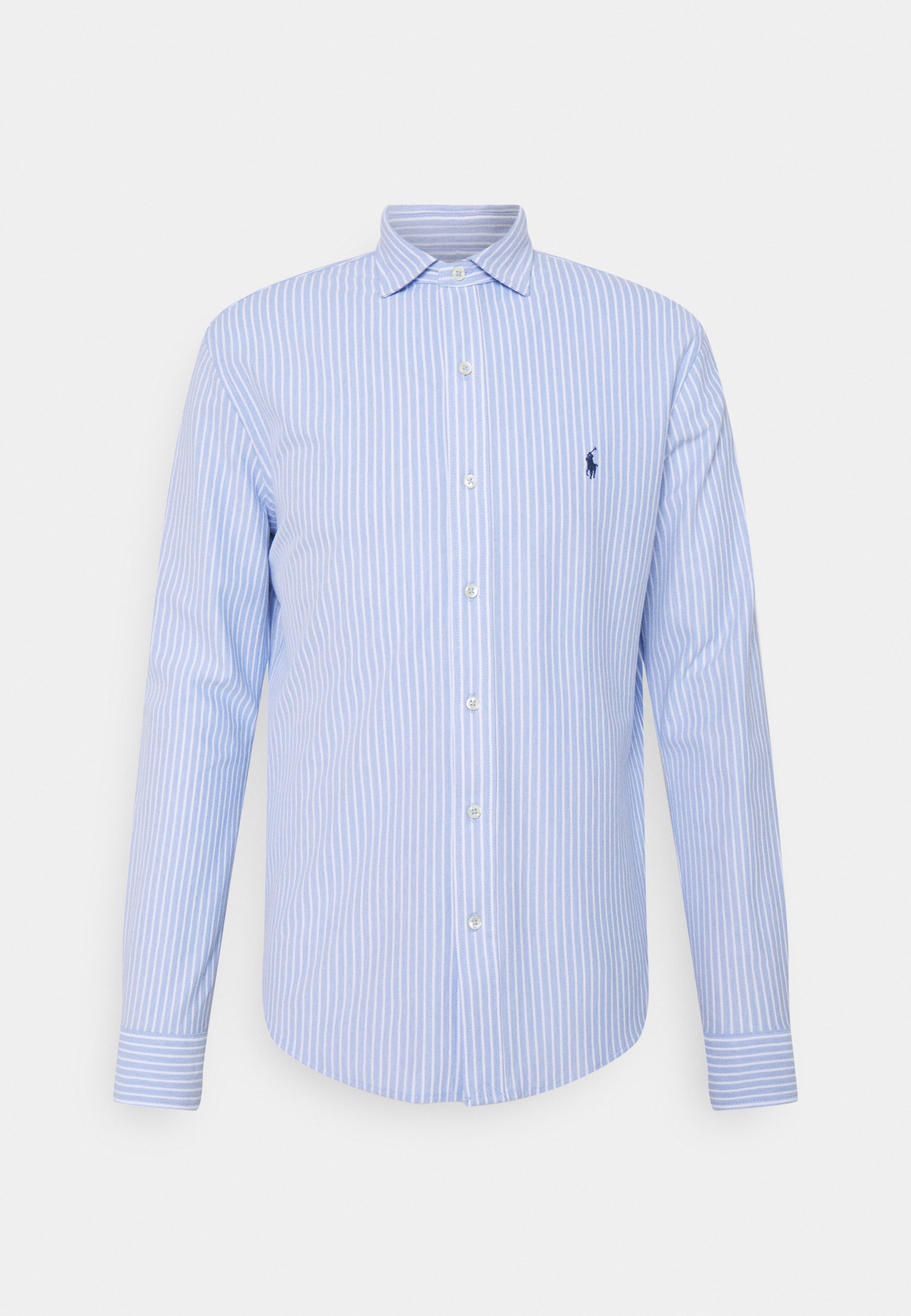 Homme STRIPED KNIT OXFORD SHIRT - Chemise