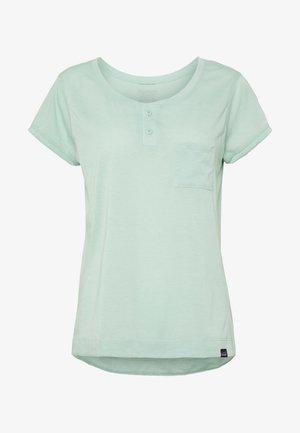 CAP COOL TRAIL BIKE - T-shirts - gypsum green