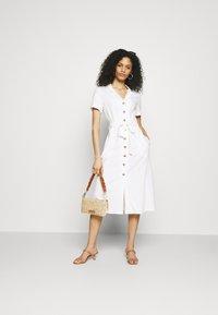 Esprit - Shirt dress - white - 1