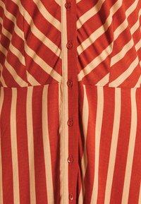 YAS Tall - YASSAVANNA STRIPE LONG DRESS - Maxi dress - arabian spice - 2