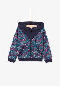 Du Pareil au Même - Zip-up sweatshirt - dark blue - 0