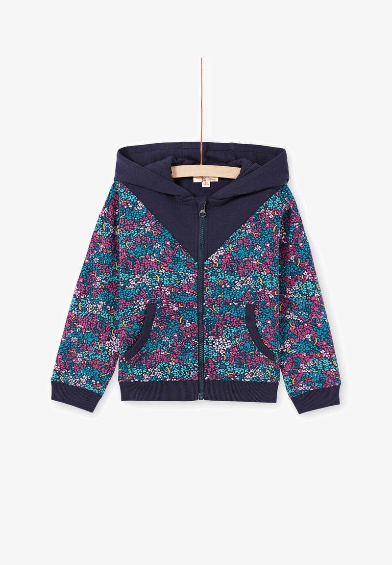 Du Pareil au Même - Zip-up sweatshirt - dark blue