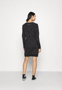 Ragwear - MENITA FLOWERS - Day dress - black - 2