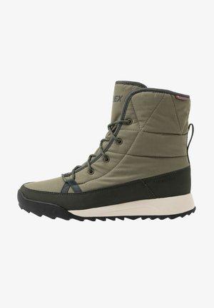 TERREX CHOLEAH PADDED - Chaussures de marche - raw khaki/legend earth/semi coral