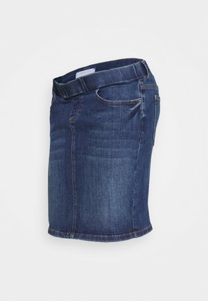 MLMONTEGA SLIM SKIRT - Denim skirt - medium blue denim
