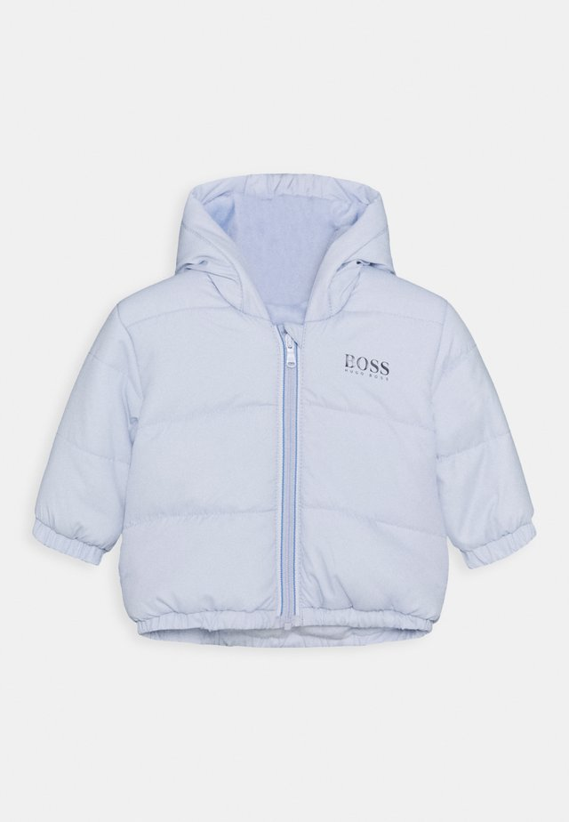 PUFFER JACKET BABY UNISEX - Winter jacket - pale blue