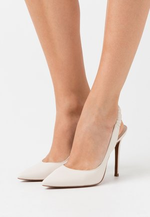 RALEIGH SLING - High heels - light cream