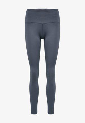 Tights - blue/grey
