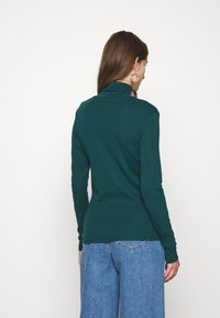 Benetton - TURTLE NECK - Long sleeved top - forrest green - 2