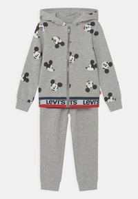 Levi's® - MICKEY MOUSE ZIP UP SET UNISEX - Chándal - grey - 0
