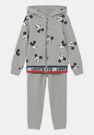MICKEY MOUSE ZIP UP SET UNISEX - Tracksuit - grey