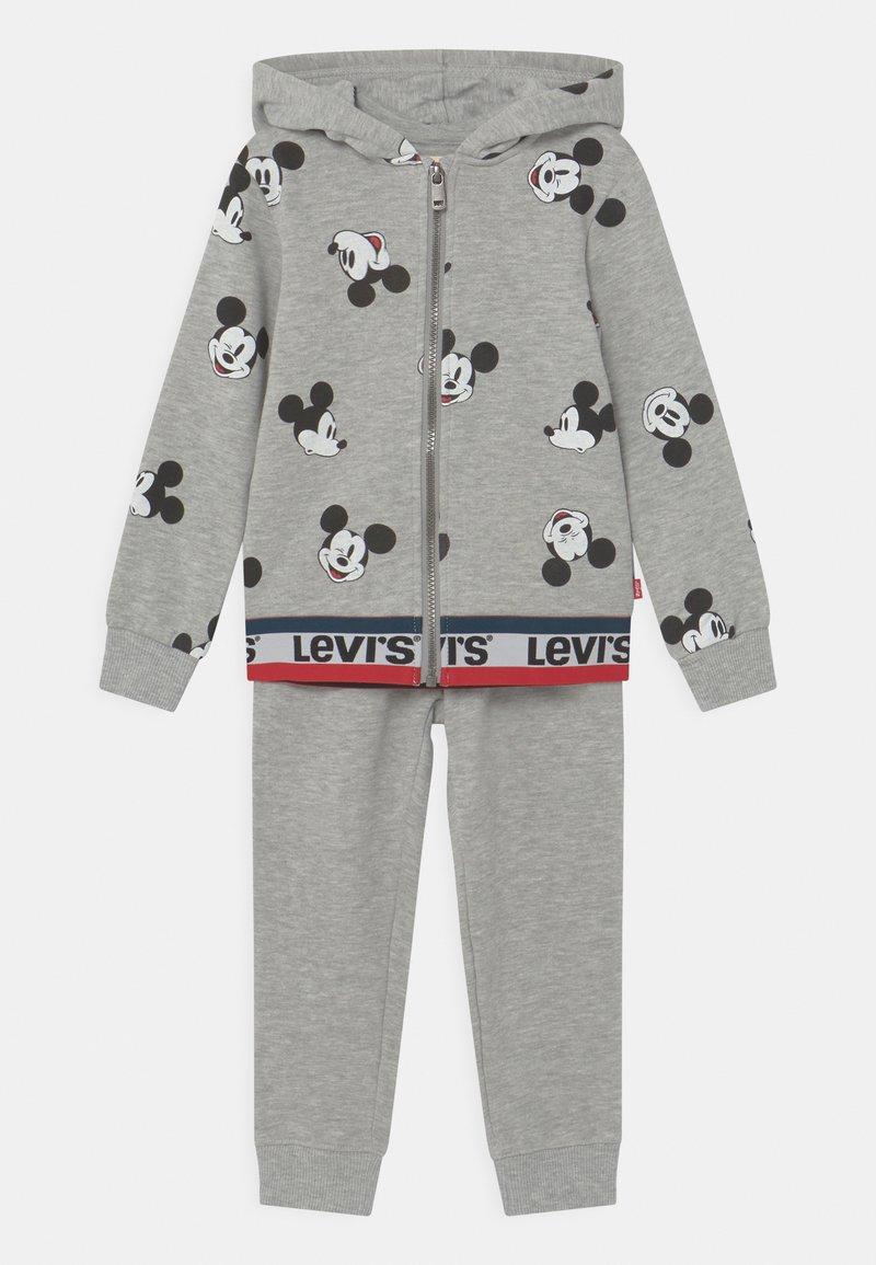 Levi's® - MICKEY MOUSE ZIP UP SET UNISEX - Chándal - grey
