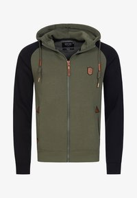 INDICODE JEANS - ARBUTUS - Zip-up hoodie - army - 5