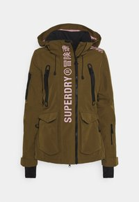 Superdry - ULTIMATE RESCUE JACKET - Skijakke - dusty olive - 5