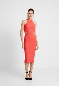 Trendyol - KIRMIZI - Cocktailjurk - red - 2