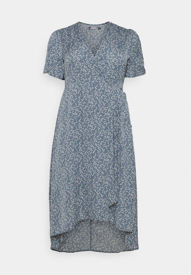 HIGH LOW DRESS - Maksimekko - blue