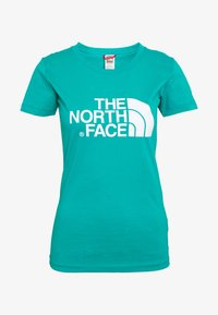 The North Face - WOMENS EASY TEE - Triko s potiskem - jaiden green - 5