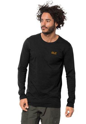ESSENTIAL LONGSLEEVE - Long sleeved top - black