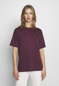Carhartt WIP - CHASY - Camiseta básica - shiraz - 0
