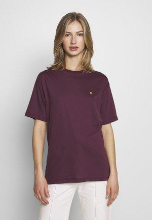 CHASY - Camiseta básica - shiraz