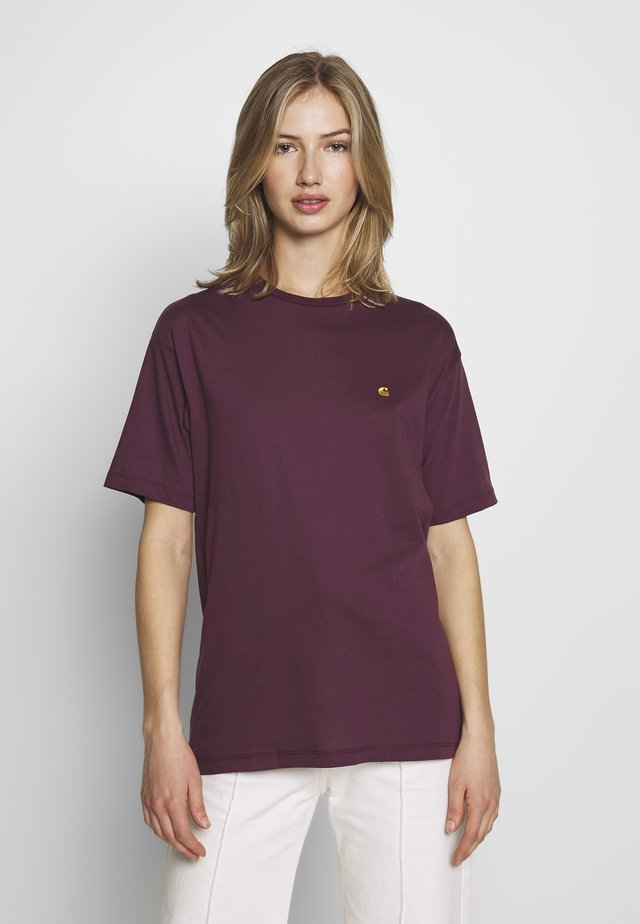 CHASY - T-shirt basic - shiraz