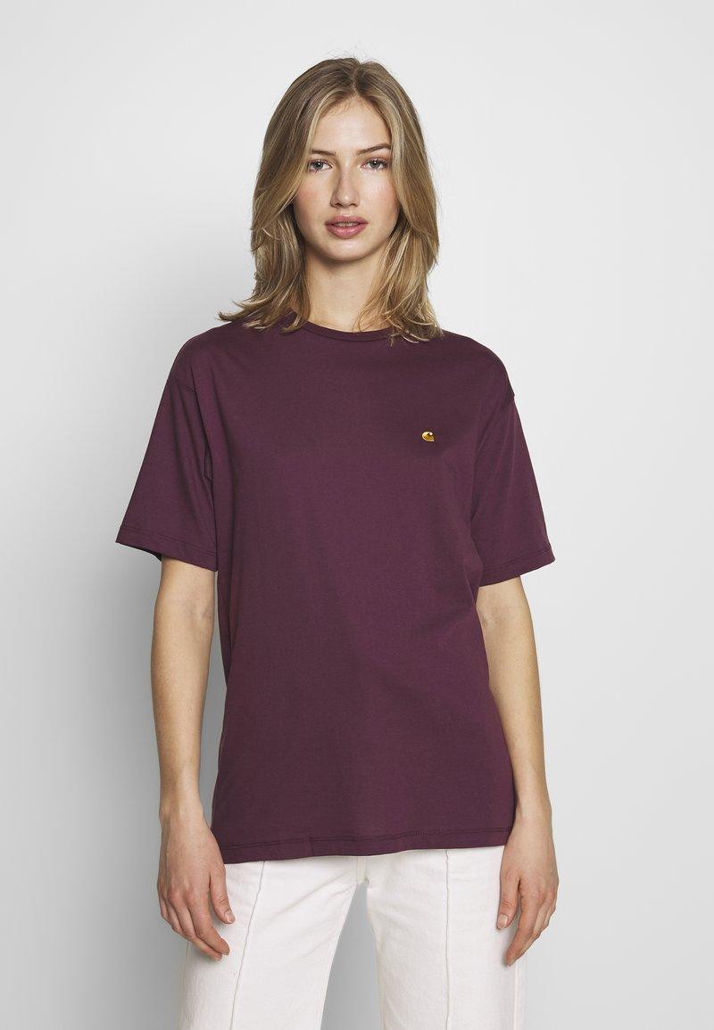 Carhartt WIP - CHASY - Camiseta básica - shiraz
