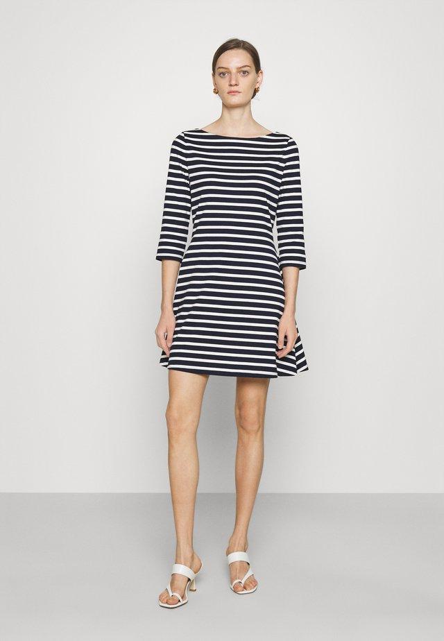 Jersey dress - rich navy
