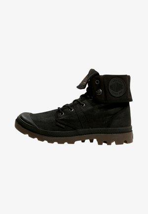 PALLABROUSE BAGGY WAX  UNISEX - Šněrovací kotníkové boty - black